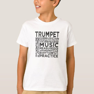 Trumpet Typography T-Shirt