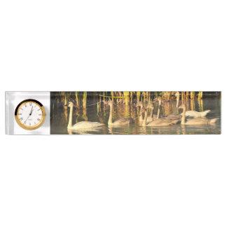 Trumpeter Swan Name Plate