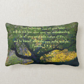 """""""Trust in Jehovah with all your heart..."""" Cushion"""