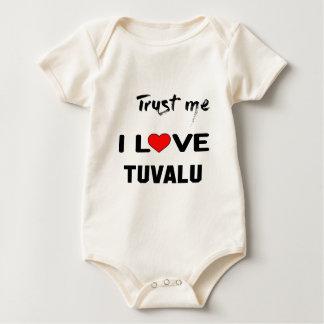 Trust me I love Tuvalu. Baby Bodysuit