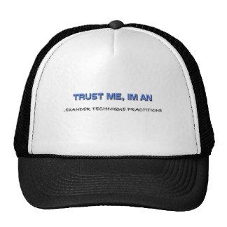 Trust Me I m an Alexander Technique Practitioner Mesh Hat