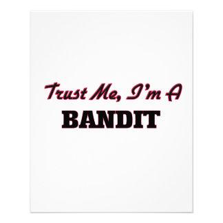 Trust me I'm a Bandit Full Color Flyer