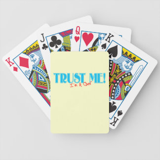 Trust Me I'm A Chef Bicycle Playing Cards