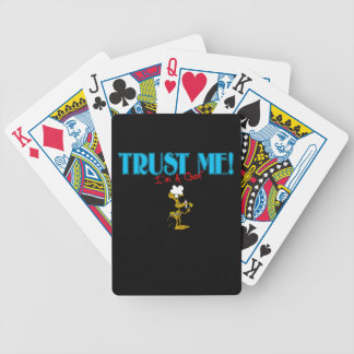 Trust Me I'm A Chef Mouse graphic Bicycle Playing Cards