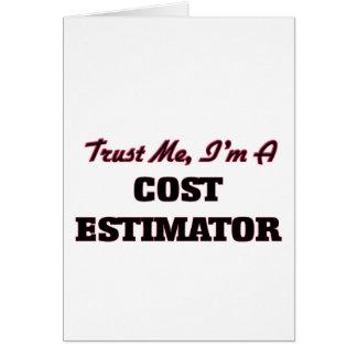 Trust me I'm a Cost Estimator Cards