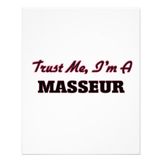 Trust me I'm a Masseur Flyer