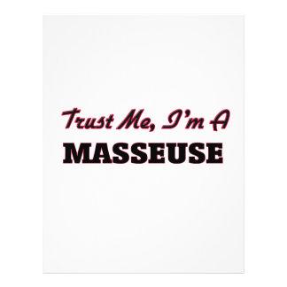Trust me I'm a Masseuse Full Color Flyer