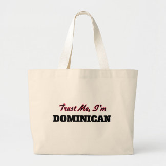Trust me I'm Dominican Canvas Bags