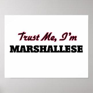 Trust me I'm Marshallese Poster