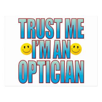 Trust Me Optician Life B Postcard