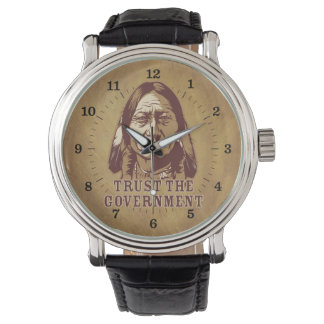Trust the Government Sitting Bull Watch