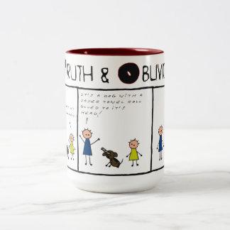 Truth and Oblivion # 11 Two-Tone Mug