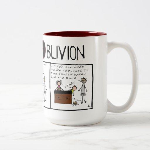 """Truth and Oblivion #6 """"Grey Matter Mug"""