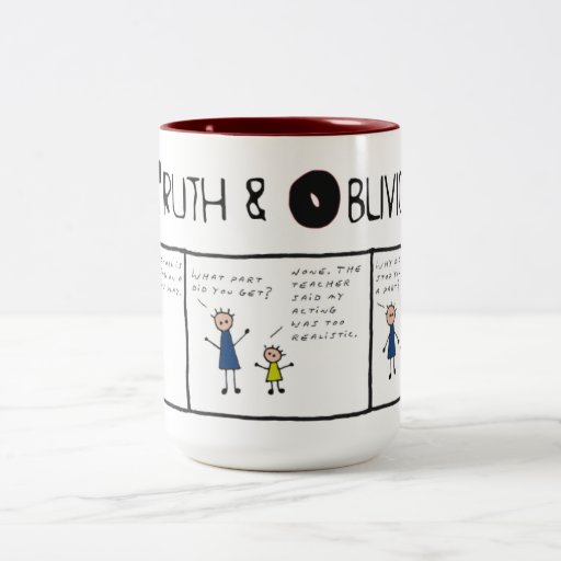 Truth and Oblivion #7 - No Reality Wanted Coffee Mugs