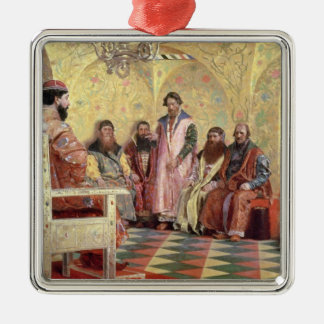 Tsar Mikhail Fyodorovich  with Boyars Christmas Ornament