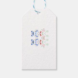 Tshirts with Ornaments Gift Tags