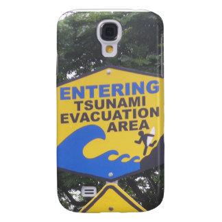 Tsunami Evacuation Galaxy S4 Case