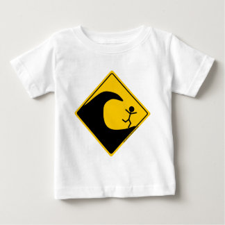 Tsunami Weather Warning Merchandise and Clothing Baby T-Shirt