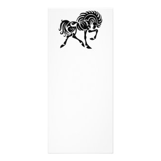 TTH TRIBAL TATTOO HORSE ICONS LOGOS GRAPHICS VECTO RACK CARDS