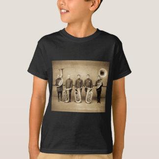 Tuba Cops Vintage (Sepia) T-Shirt
