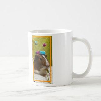 Tuckman the guinea pig coffee mug