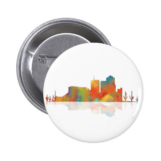 Tucson Arizona Skyline 6 Cm Round Badge