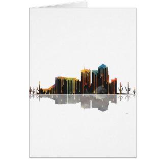 Tucson Arizona Skyline Card