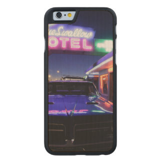 Tucumcari, New Mexico, United States. Route 66 2 Carved® Maple iPhone 6 Slim Case