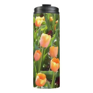 Tulip Orange Field Thermal Tumbler