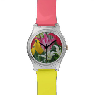 tulip photography womens watch