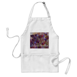 """Tulips And Fireflies"" - APRON"