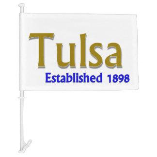 Tulsa Car Flag
