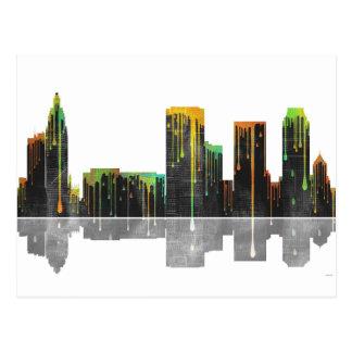 Tulsa Oklahoma Skyline Postcard