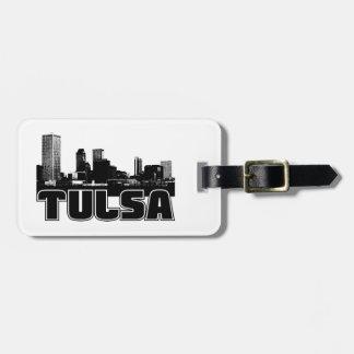 Tulsa Skyline Luggage Tag