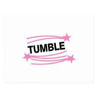 Tumble Postcard