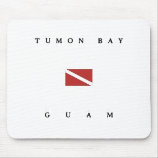 Tumon Bay Guam Scuba Dive Flag Mouse Pad