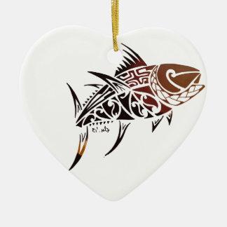 Tuna Christmas Ornament