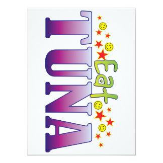 Tuna Eat 14 Cm X 19 Cm Invitation Card