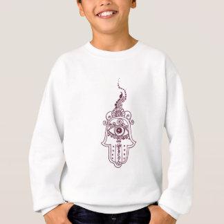 tunisia evil eye henna sweatshirt