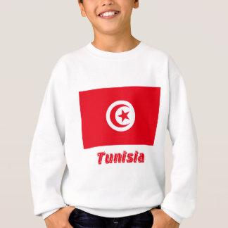 Tunisia Flag with Name Sweatshirt