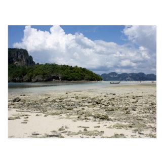 Tup Island, Thailand Postcard