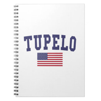 Tupelo US Flag Notebook
