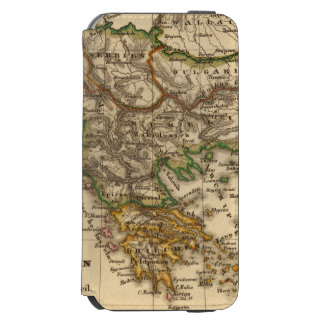 Turkey and Greece Map Incipio Watson™ iPhone 6 Wallet Case