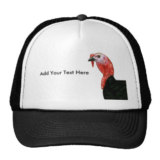 Turkey:  Black Tom Head Cap