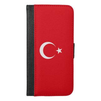Turkey Flag iPhone 6/6s Plus Wallet Case