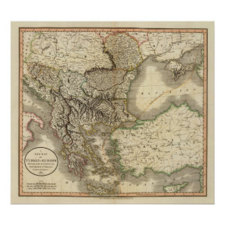 Turkey in Europe 8 Poster