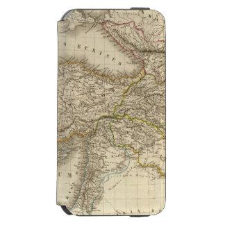 Turkey Syria map Incipio Watson™ iPhone 6 Wallet Case