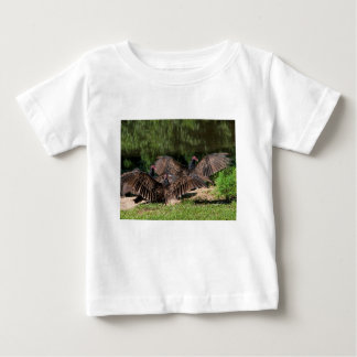 Turkey Vultures With Spread Wings Baby T-Shirt