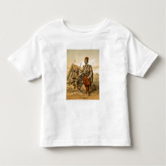Turkish foot soldiers in the Ottoman army, pub. by Toddler T-Shirt