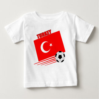 Turkish Soccer Team Baby T-Shirt